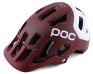 POC Tectal Race SPIN Helmet (Propylene Red/Hydrogen White Matte) | product-related