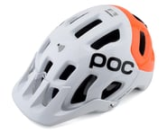 POC Tectal Race SPIN NFC Helmet (Hydrogen White/Fluorescent Orange AVIP) | product-related