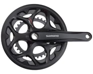Shimano Tourney FC-A070 Crankset (Black) (2 x 7/8 Speed) (Square Taper)   product-related