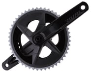 SRAM Rival AXS Crankset w/ Quarq Power Meter (Black) (2 x 12 Speed) (DUB Spindle) (D1) | product-also-purchased
