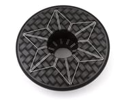 Supacaz Laser Etched Star Cap (Black/White) | product-also-purchased