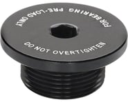 Surly Bearing Pre-Load Cap Black Non-Drive Crank Bolt (Black) | product-also-purchased
