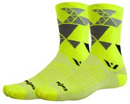 Swiftwick Vision Six Geometric Socks (Yellow) | product-related