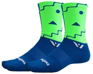 Swiftwick Vision Six Abstract Socks (Blue) | product-related