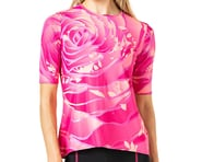 Terry Women's Soleil Flow Short Sleeve Cycling Top (Rose Pedals) | product-related