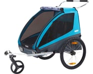Thule Coaster XT (Blue) (Trailer & Stroller)   product-related