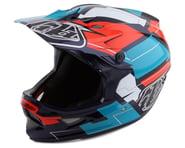 Troy Lee Designs D3 Fiberlite Full Face Helmet (Vertigo Blue/Red)   product-related