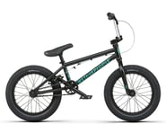"""We The People 2021 Seed 16"""" BMX Bike (16"""" Toptube) (Matte Black) 