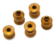 Wolf Tooth Components Dual Hex Fitting Chainring Bolts (Gold) (6mm) (5) | product-related