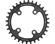 Wolf Tooth Components Drop-Stop Chainring (Black) (76mm BCD) | product-also-purchased