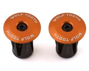Wolf Tooth Components Alloy Bar End Plugs (Orange) | product-also-purchased