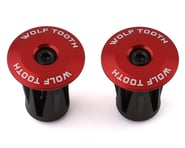 Wolf Tooth Components Alloy Bar End Plugs (Red) | product-also-purchased