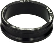 """Wolf Tooth Components 1-1/8"""" Headset Spacers (Black) (5) 