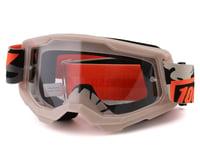 100% Strata 2 Goggles (Kombat) (Clear Lens)