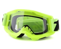100% Strata 2 Youth Goggles (Fluo Yellow) (Clear Lens)