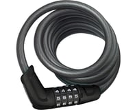 Abus Tresor 6512 Combination Coiled Cable Lock w/ Mount (180cm x 12mm)