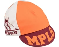 All-City Hennepin Bridge Cycling Cap (Maroon/Orange) (One Size Fits Most)