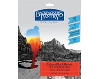Backpacker's Pantry Cuban Coconut Black Beans and Rice: 2 Servings