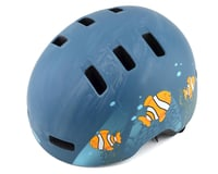 Bell Lil Ripper Helmet (Matte Grey/Blue Fish)