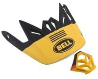 Bell Full-9 Replacement Visor Combo (Matte Yellow/Black)