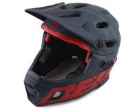 Bell Super DH MIPS Helmet (Matte Blue/Crimson)