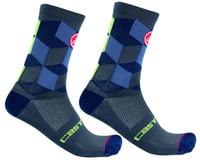Castelli Unlimited 15 Sock (Dark Steel Blue)