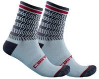 Castelli Avanti 12 Sock (Dusty Blue/Dark Steel Blue)