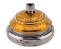 """Chris King DropSet 2 Headset (Gold) (1-1/8"""" to 1-1/2"""") (45°)"""
