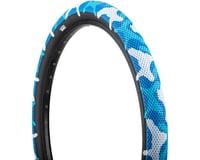 Cult Vans Tire (Blue Camo/Black) (Wire)