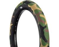 Cult Vans Tire (Green Camo/Black) (Wire)