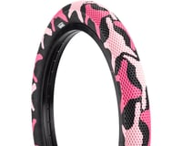 Cult Vans Tire (Pink Camo/Black) (Wire)