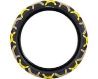 Cult Vans Tire (Yellow Camo/Black) (Wire)