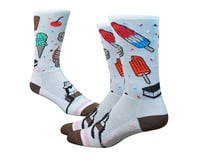 """DeFeet Aireator 6"""" iSCREAM (White/Brown/Pink)"""