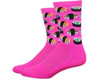 "DeFeet Aireator 6"" Sushi Socks (Pink)"