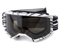 Fly Racing Zone Watercraft Goggle (Black/White) (Dark Smoke Lens)
