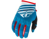Fly Racing Kinetic K220 Gloves (Blue/White/Red)