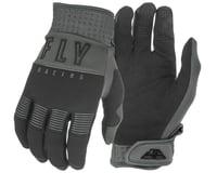 Fly Racing F-16 Gloves (Black/Grey)