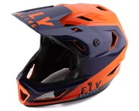 Fly Racing Youth Rayce Helmet (Navy/Orange/Red)