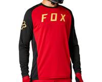 Fox Racing Defend Long Sleeve Jersey (Chili)