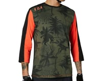 Fox Racing Ranger DriRelease 3/4 Length Sleeve Jersey (Olive Green)