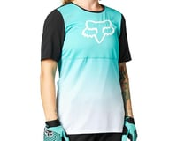 Fox Racing Women's Flexair Short Sleeve Jersey (Teal)
