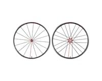 Fulcrum Racing Zero Competizione Wheelset (Black/Red) (700c) (Quick Release)