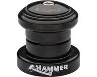 "FSA Hammer Heavy Duty Threadless Headset (Black) (1-1/8"")"