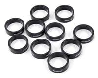 "FSA PolyCarbonate Headset Spacers (Black) (1-1/8"") (10)"