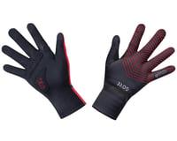 Gore Wear C3 Gore-Tex Infinium Stretch Mid Gloves (Black/Red)