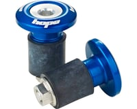 Hope Grip Doctor Bar End Plugs (Blue)