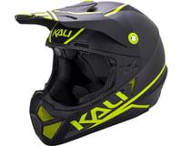 Kali Shiva 2.0 Helmet (Dual Matte Black/Lime)