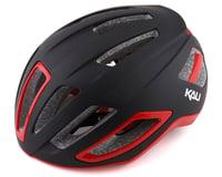Kali Uno Road Helmet (Solid Matte Black/Red)