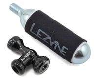 Lezyne Control Drive C0-2 Inflator, Slip-fit Shcrader/Presta, includes 16g cartr