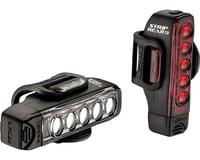 Lezyne Strip Drive Headlight & Taillight Set (Black)